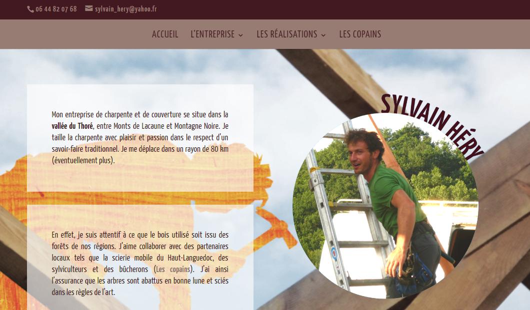 www.sylvainhery-charpente.fr