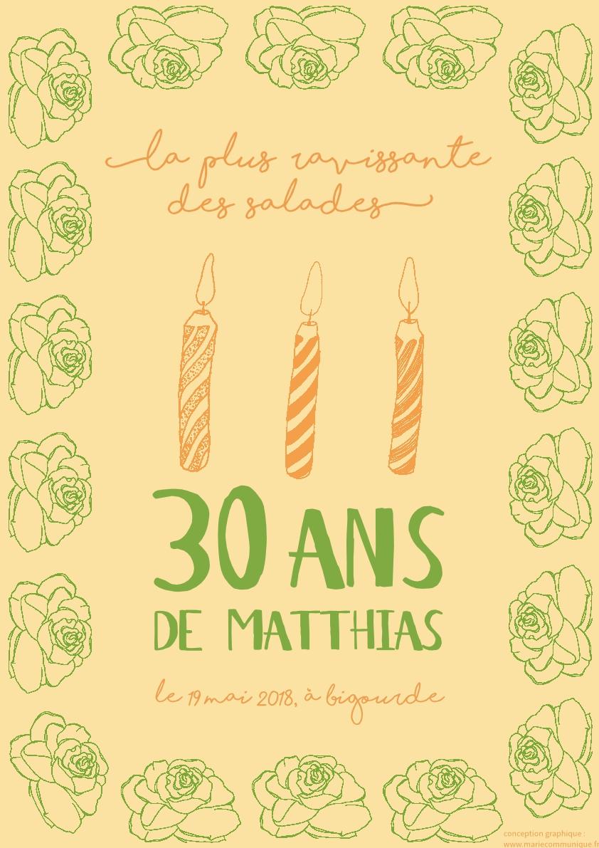 30 ans Matthias